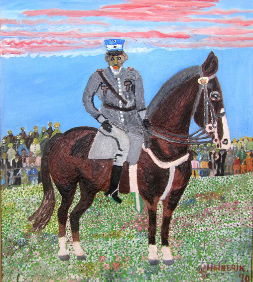 Heinerik King Christian X on Horseback