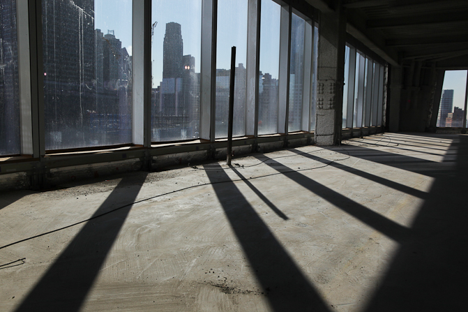 Images of inside the world trade center