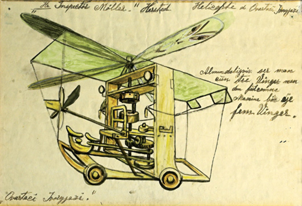 Ovartaci helicopter sketch