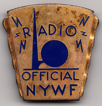 Henry Wei's 1939 New York World's Fair badge.