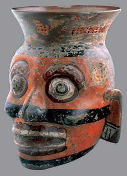 aztec clay pots