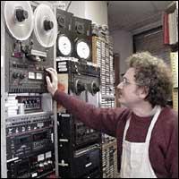Archivist Andy Lanset