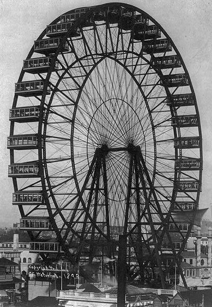 Ferris wheel at the Chicago World's Fair