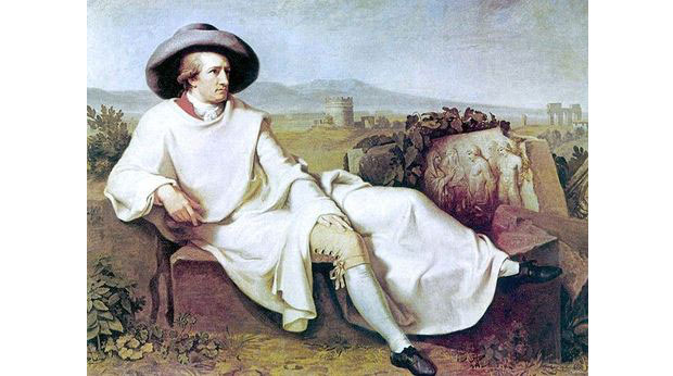 Goethe in the Roman Campagna, 1787