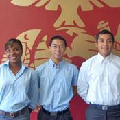 Tyla Adolf, Jason Lu and Roger Peralta