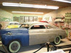 An exhibit showing off L.A.