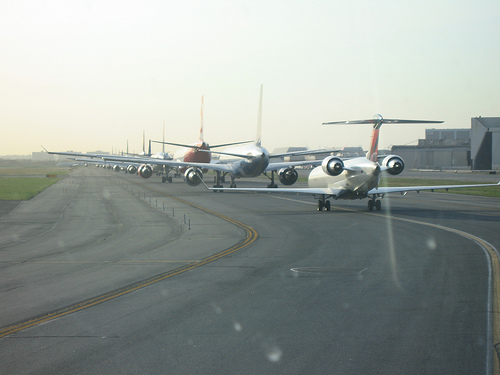 Port Authority commissioners vote today on plans for a $375 million renovation of JFK runways