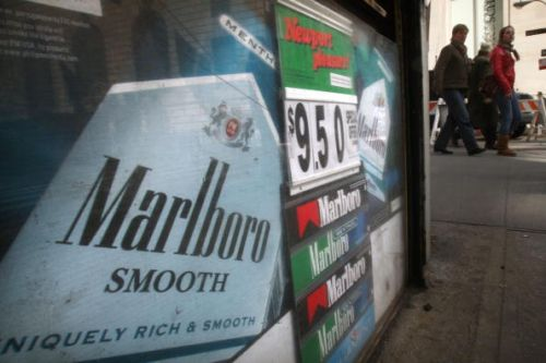 Starting today, a pack of cigarettes will cost at least $9 in NYC. (Getty Images)