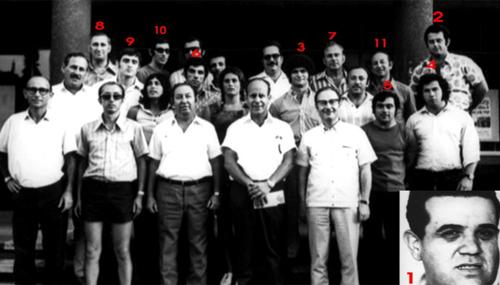 Members of the Israeli Olympic team.
