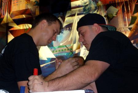 Michael Ayello and Tom P.