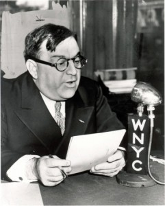 Mayor Fiorello Henry LaGuradia courtesy of the WNYC Archives Collection